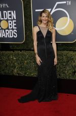 LAURA DERN at 75th Annual Golden Globe Awards in Beverly Hills 01/07/2018