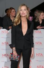 LAURA WHITMORE at National Television Awards in London 01/23/2018