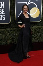 LAURIE METCALF at 75th Annual Golden Globe Awards in Beverly Hills 01/07/2018