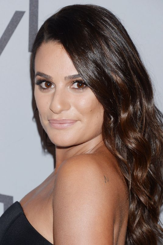 LEA MICHELE at Instyle and Warner Bros Golden Globes After-party in Los Angeles 01/07/2018