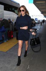 LEANN RIMES at Los Angeles International Airport 01/05/2018