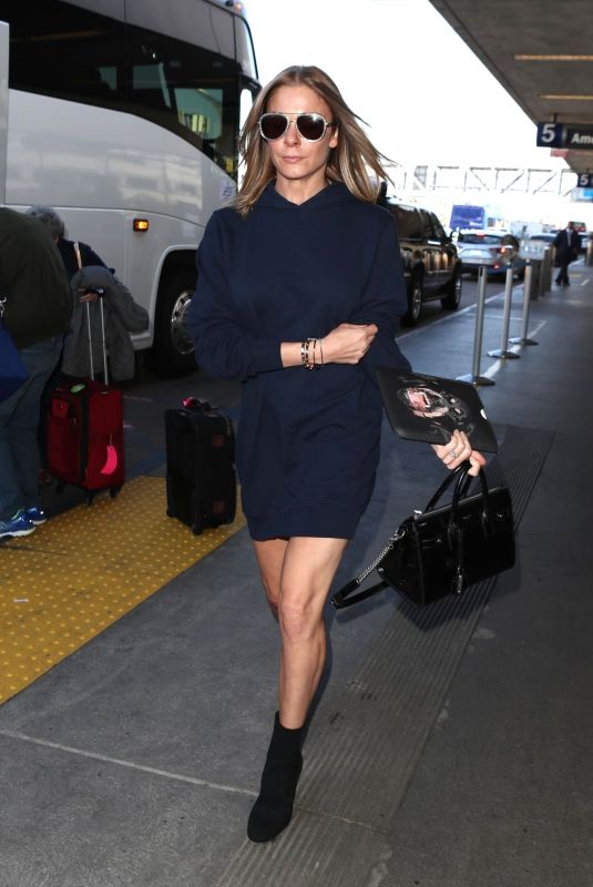 LEANN RIMES at Los Angeles International Airport 01/05/2018