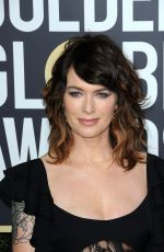 LENA HEADEY at 75th Annual Golden Globe Awards in Beverly Hills 01/07/2018
