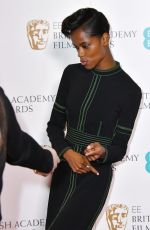 LETITIA WRIGHT at Bafta Film Awards Nominations Announcement in London 01/09/2018