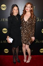LILA FEINBERG at The Alienist Premiere in New York 01/16/2018