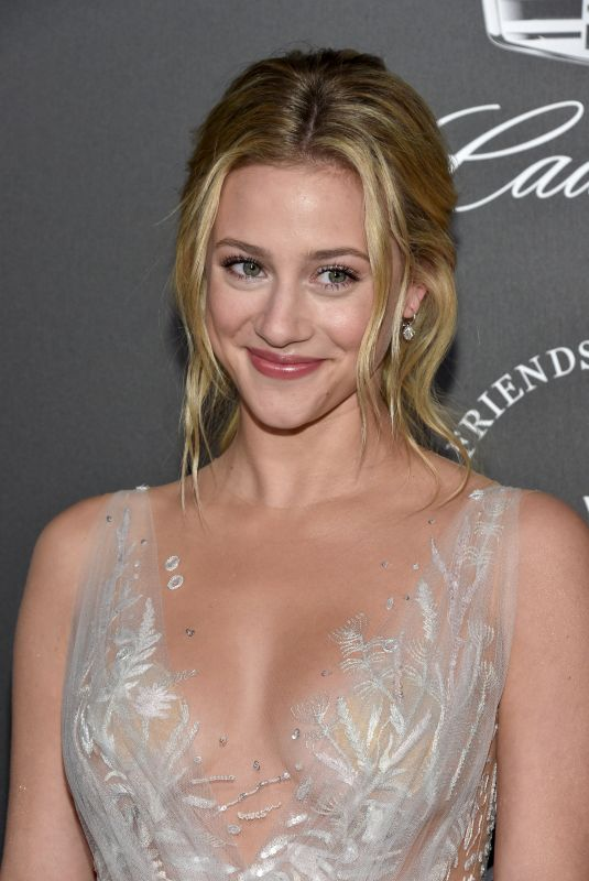 LILI REINHART at The Art of Elysium Heaven in Los Angeles 01/06/2018