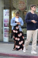 LILY JAMES and Matt Smith Out in Los Angeles 01/10/2018