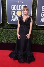 LILY JAMES at 75th Annual Golden Globe Awards in Beverly Hills 01/07/2018