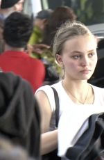 LILY-ROSE DEPP at Los Angeles International Airport 01/24/2018