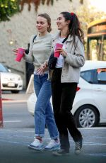 LILY-ROSE DEPP Leaves Pinches Tacos in West Hollywood 01/18/2018