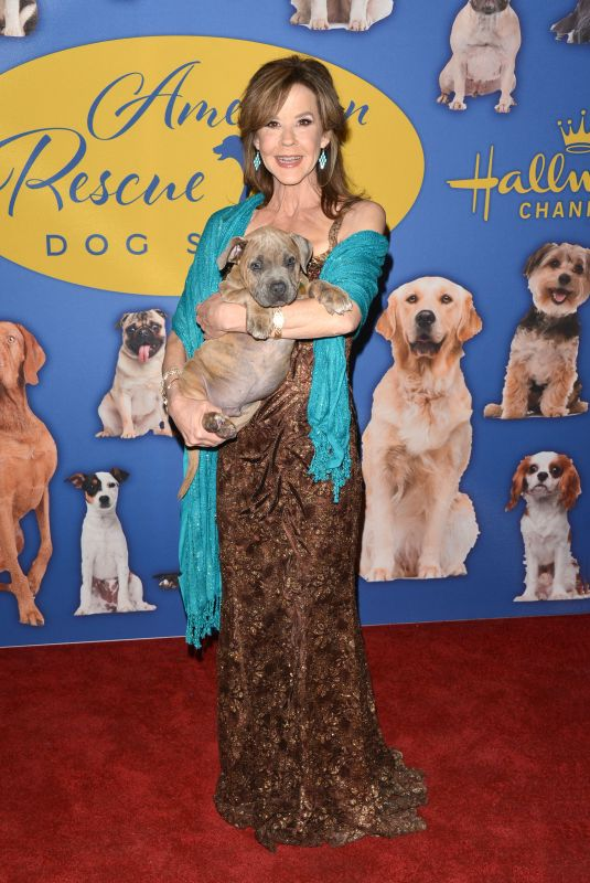 LINDA BLAIR at American Rescue Dog Show in Pomona 01/14/2018