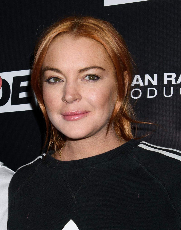 LINDSAY LOHAN at LGBTQ... Lindsay Lohan 2018
