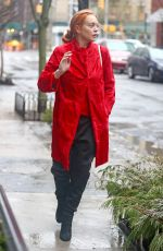LINDSAY LOHAN Out and About in New York 01/12/2018