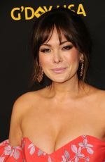 LINDSAY PRICE at 15th Annual G'Day USA Los Angeles Black Tie Gala 01/27/2018