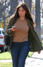 LINDSAY PRICE Out and About in Beverly Hills 01/24/2018