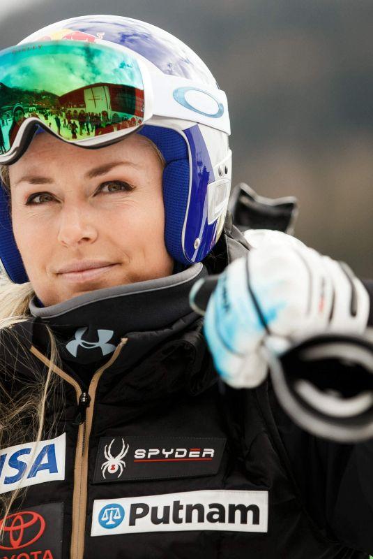 LINDSEY VONN  at Alpine Skiing FIS World Cup in Bad Kleinkirchheim in Austria 01/11/2018