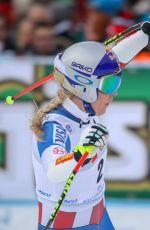 LINDSEY VONN at Alpine Skiing FIS World Cup, Super G in Bad Kleinkirchheim 01/13/2018