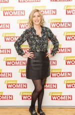 LISA FAULKNER at Loose Women Show in London 01/03/2018