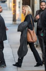 LISA KUDROW Arrives at Jimmy Kimmel Live in Los Angeles 01/24/2018