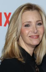 LISA KUDROW at Grace and Frankie Season 4 Premiere in Los Angeles 01/18/2018