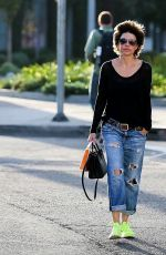 LISA RINNA at Kate Somerville Spa in West Hollywood 01/17/2018