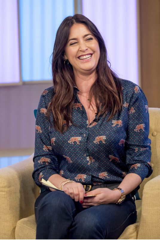 LISA SNOWDON at Loose Women Show in London 01/04/2018