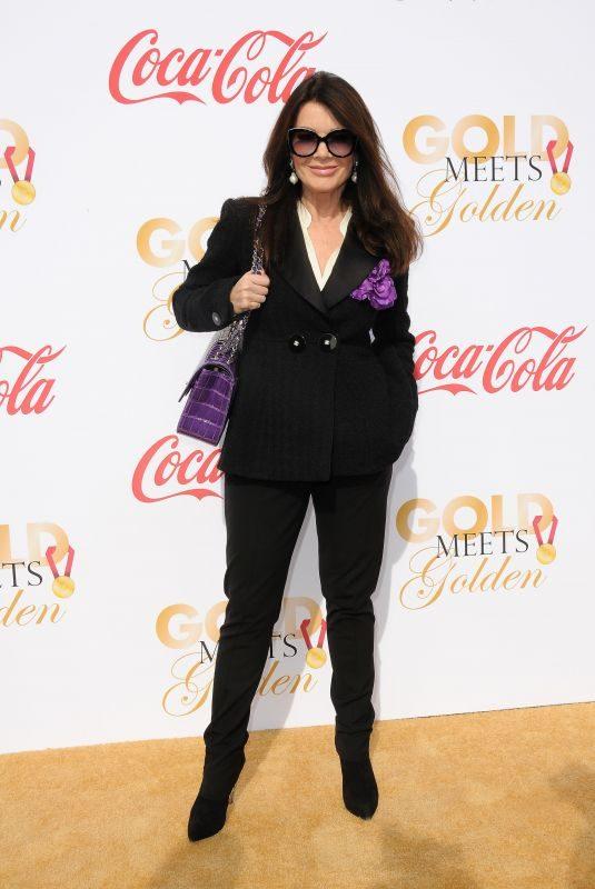 LISA VANDERPUMP at 5th Annual Gold Meets Golden in Los Angeles 01/06/2018