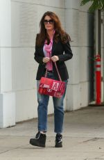 LISA VANDERPUMP Out Shopping in Beverly Hills 01/03/2018