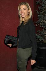 LIZ NOLAN at Bardot Nightclub in Hollywood 01/13/2018