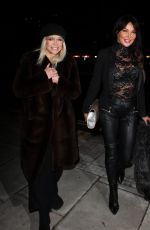 LIZZIE CUNDY and JO WOOD at #megsmenopause Launch Party in London 01/10/2018