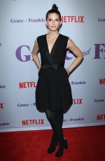 LNDSEY CRAFT at Grace and Frankie Season 4 Premiere in Los Angeles 01/18/2018