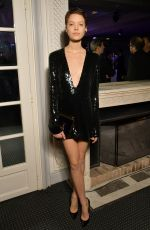LOANE NORMAND at Sidaction Gala Dinner in Paris 01/25/2018