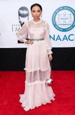 LOGAN BROWNING at 49th Naacp Image Awards in Pasadena 01/14/2018