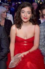LORDE at Grammy 2018 Awards in New York 01/28/2018