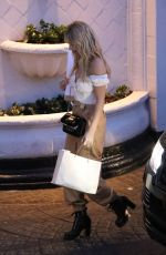 LOTTIE MOSS Arrives at Her Hotel in Los Angeles 01/26/2018