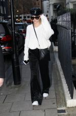 LOTTIE MOSS Out for Lunch in London 01/16/2018