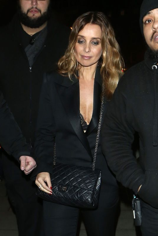 LOUISE REDKNAPP Leaves Her Gig at Scala in London 01/24/2018