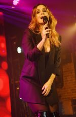LOUISE REDKNAPP Performs on New Year