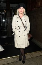 LUCY FALLON at Rosso Restaurant in Manchester 01/11/2018