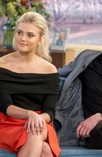 LUCY FALLON at This Morning Show in London 01/18/2018