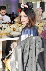 LUCY HALE at Lunch Celebrating Minnie