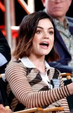 LUCY HALE at Winter TCA Press Tour in Pasadela 01/07/2018