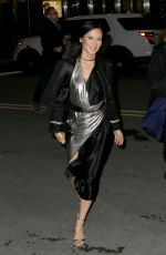 LUCY LIU Arrives at Elton John Concert at Madison Square Garden in New York 01/30/2018