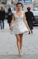 LUCY MECKLENBURGH Arrives at Galia Lahav Fashion Show in Paris 01/24/2018
