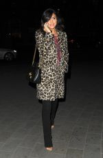 LUCY MECKLENBURGH Out and About in London 01/19/2018