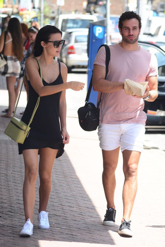 LUCY WATSON and James Dunmore Out at Bondi Beach in Sydney 01/24/2018