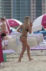 LUDMILA ISABELLA in Bikini at a Beach in Miami 01/07/2018