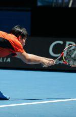 LUKSIKA KUMKHUM at Australian Open Tennis Tournament in Melbourne 01/17/2018