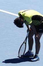 LUKSIKA KUMKHUM at Australian Open Tennis Tournament in Melbourne 01/19/2018