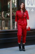 LUNA BLAISE Arrives at AOL Build Series Studio in New York 01/18/2018